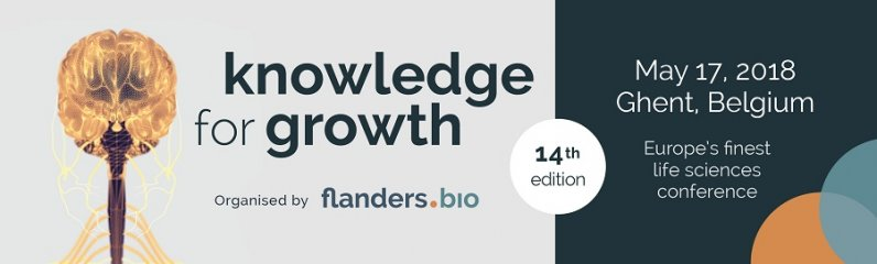 knowledge for growth 2018 - Europe's finest life sciences conference